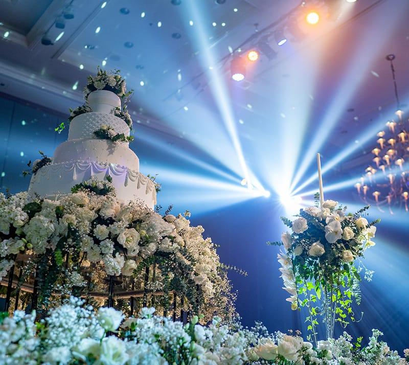 Wedding Cake at Event